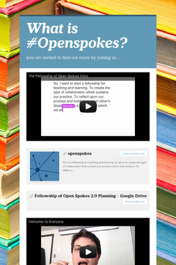 What is #Openspokes?