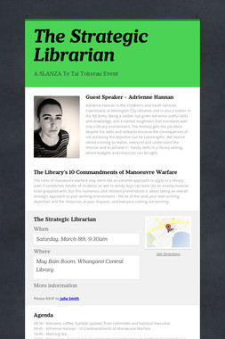 The Strategic Librarian