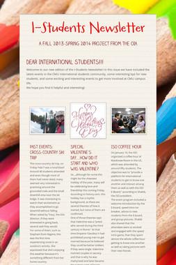 I-Students Newsletter