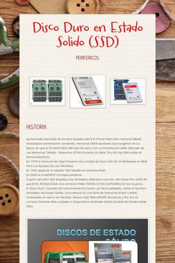 Disco Duro en Estado Solido (SSD)