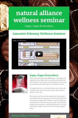 natural alliance wellness seminar