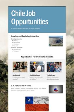 Chile Job Oppurtunities