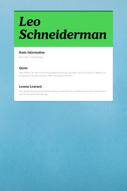 Leo Schneiderman