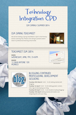 Technology Integration CPD