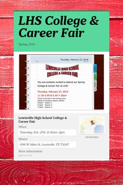 LHS College & Career Fair