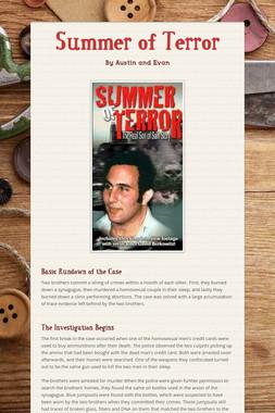 Summer of Terror