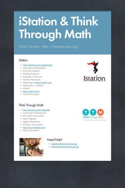 iStation & Think Through Math