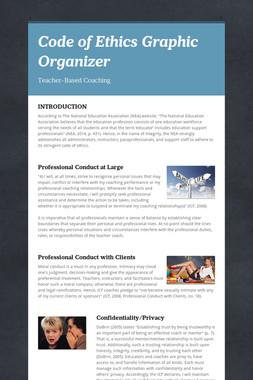 Code of Ethics Graphic Organizer