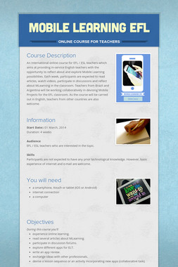 Mobile Learning EFL