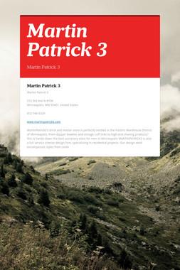 Martin Patrick 3