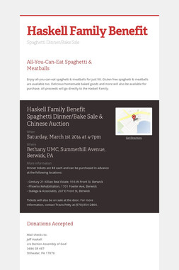 Haskell Family Benefit