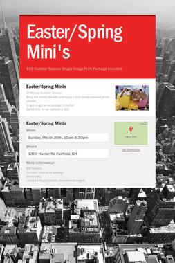 Easter/Spring Mini's
