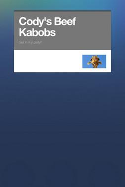 Cody's Beef Kabobs