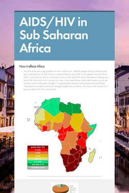 AIDS/HIV in Sub Saharan Africa
