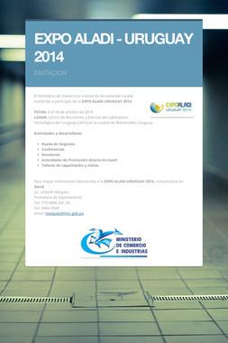 EXPO ALADI - URUGUAY 2014