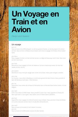 Un Voyage en Train et en Avion