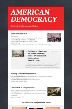 AMERICAN DEMOCRACY