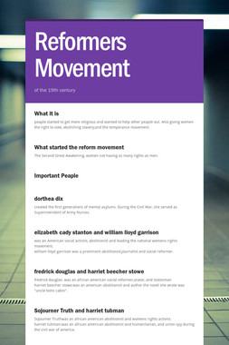 Reformers Movement