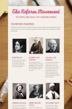 The Reform Movement