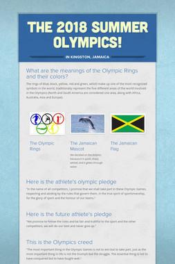 The 2018 Summer Olympics!