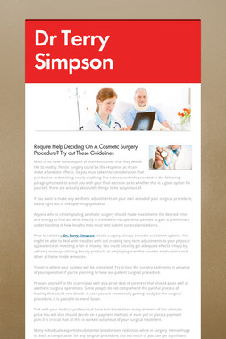 Dr Terry Simpson