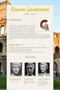 Roman Goverment