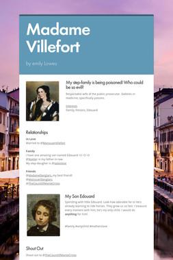 Madame Villefort