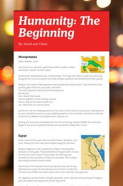 Humanity: The Beginning