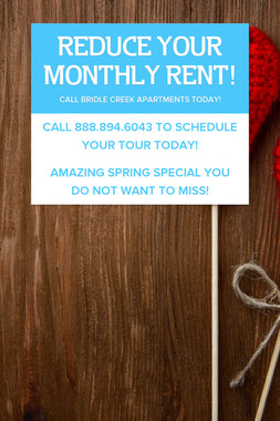 REDUCE YOUR MONTHLY RENT!