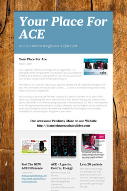 Your Place For ACE