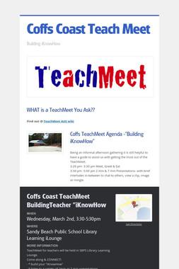 Coffs Coast Teach Meet