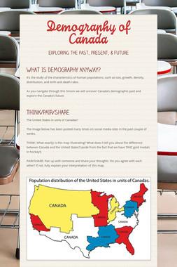 Demography of Canada