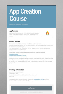 App Creation Course