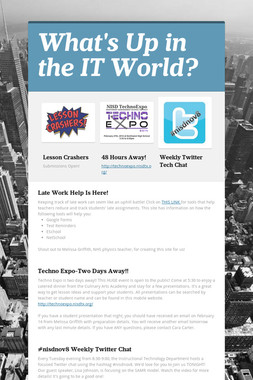 What's Up in the IT World?