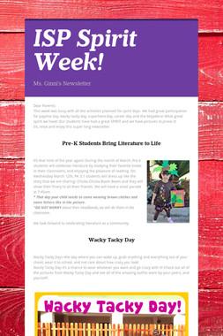ISP Spirit Week!