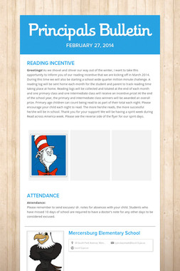 Principals Bulletin