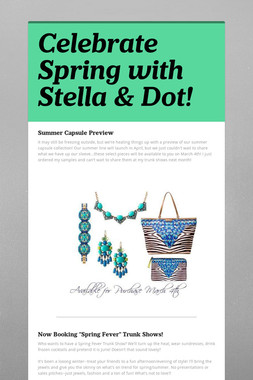 Celebrate Spring with Stella & Dot!