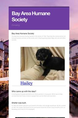 Bay Area Humane Society