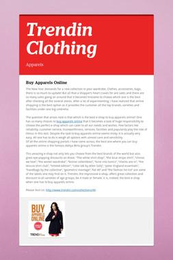 Trendin Clothing