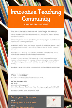 Innovative Teaching Community