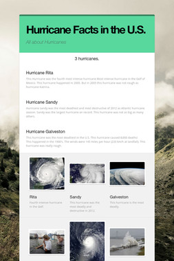 Hurricane Facts in the U.S.