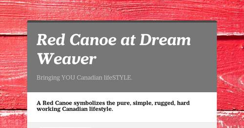 Red Canoe at Dream Weaver | Smore Newsletters