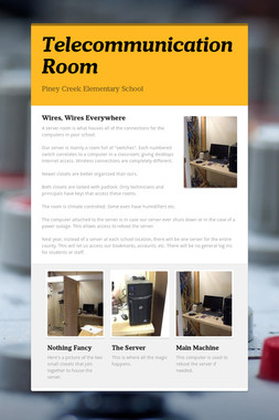 Telecommunication Room