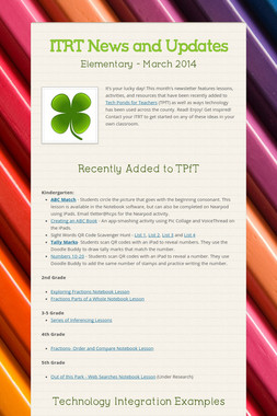 ITRT News and Updates