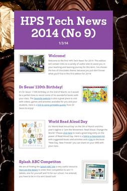 HPS Tech News 2014 (No 9)