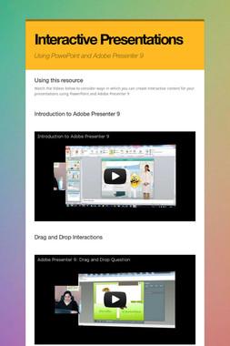 Interactive Presentations