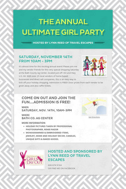 The Annual Ultimate Girl Party