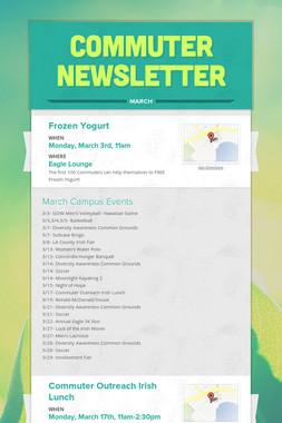 Commuter Newsletter