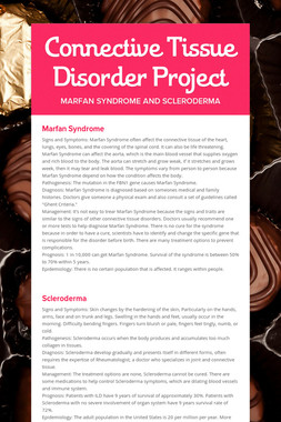 Connective Tissue Disorder Project