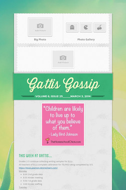 Gattis Gossip